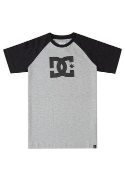 DC Shoes - T-shirt print - heather grey/black