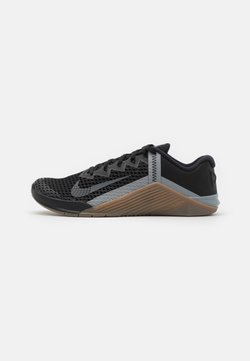 Nike Performance - METCON 6 UNISEX - Kuntoilukengät - black/iron grey/dark brown