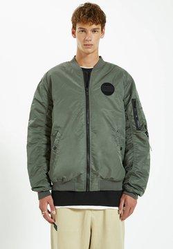 PULL&BEAR - Giubbotto Bomber - dark green