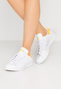 adidas Originals - STAN SMITH - Baskets basses - footwear white/core yellow