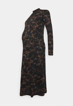 Pieces Maternity - PCMSAPPHIRE MIDI DRESS - Vestido ligero - black