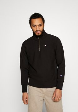 Champion Reverse Weave - HALF ZIP - Sweater - black