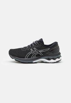 ASICS - GEL-KAYANO 27 - Zapatillas de running estables - black/pure silver