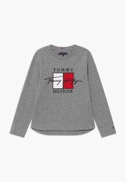 Tommy Hilfiger - SIGNATURE TEE - Long sleeved top - grey