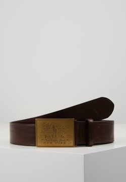 Polo Ralph Lauren - PLO HRTG BLT-CASUAL-SMOOTH LEATHER - Belte - brown
