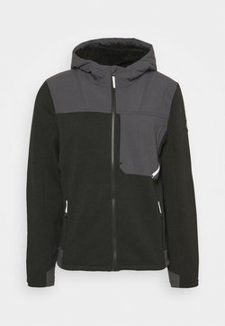 Spyder - ALPS FULL ZIP HOODIE - Fleecejacke - black