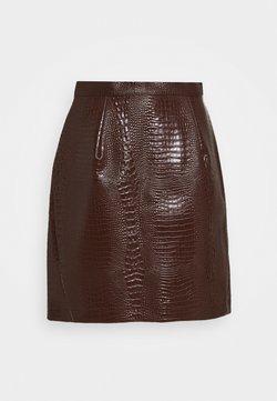 Han Kjøbenhavn - SKIRT - A-line skirt - brown