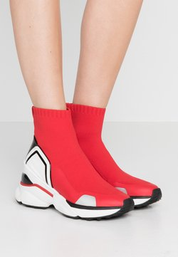 MICHAEL Michael Kors - High-top trainers - bright red