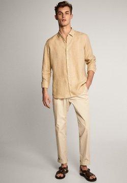 Massimo Dutti - Shirt - beige