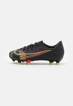 Nike Performance - JR MERCURIAL VAPOR 14 ACADEMY FG/MG UNISEX - Chaussures de foot à crampons - black/cyber/off noir