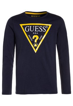 Guess - Bluzka z długim rękawem - deck blue