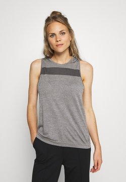 Icebreaker - MOTION SEAMLESS TANK - Funktionsshirt - panther heather