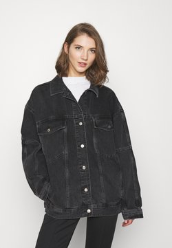 Topshop - DAD - Giacca di jeans - washed black
