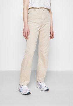 Weekday - ROWE TROUSER - Pantalones - beige