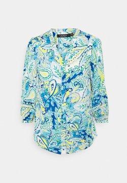 Lauren Ralph Lauren - FAJOLA LONG SLEEVE SHIRT - Bluse - blue multi