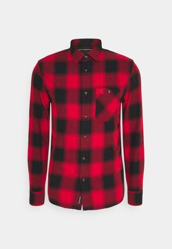 Calvin Klein Jeans - GRUNGE CHECK - Hemd - red hot