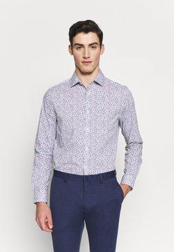 Burton Menswear London - BLUESCATTERED FLORAL PRINT - Shirt - blue