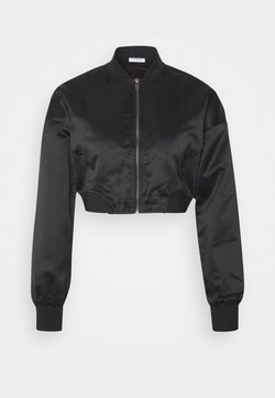 Noisy May - BOMBER JACKET - Giubbotto Bomber - black