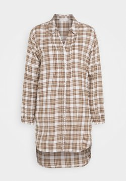 Cream - CHEKIA SHIRT - Chemisier - brown