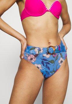 s.Oliver - PANTS HIGH - Bikini-Hose - blue