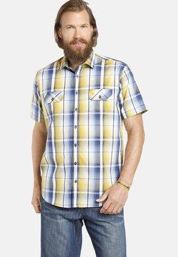 Jan Vanderstorm - JARLE - Hemd - blau gelb kariert