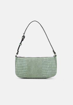 Lindex - BAG ELLA CROCO - Håndtasker - light green