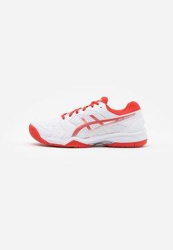 ASICS - GEL-DEDICATE 6 - Zapatillas de tenis para todas las superficies - white/fiery red
