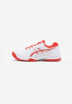ASICS - GEL-DEDICATE 6 - Multicourt Tennisschuh - white/fiery red