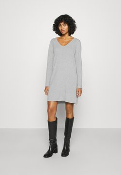 Vero Moda - VMDIANE V NECK DRESS  - Etuikleid - light grey