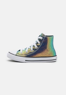 Converse - CHUCK TAYLOR ALL STAR IRIDESCENT GLITTER - Sneakers high - white/black