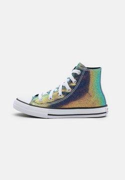 Converse - CHUCK TAYLOR ALL STAR IRIDESCENT GLITTER - Zapatillas altas - white/black