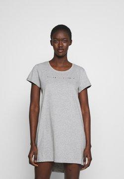 Hunkemöller - NIGHTIE NECK - Nachthemd - light grey melange
