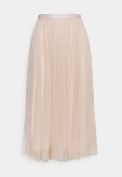 Needle & Thread - KISSES MIDAXI SKIRT - Falda acampanada - pearl rose