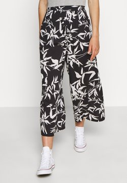 Obey Clothing - KAIA CROPPED PANT - Trousers - black/multi
