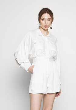 Mossman - TELL IT TO MY HEART PLAYSUIT - Combinaison - white