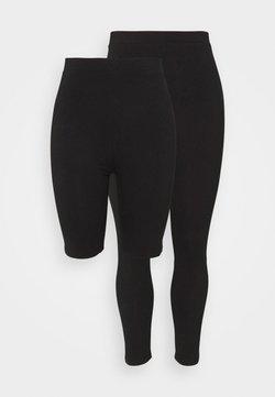 Even&Odd Curvy - SET - Shorts - black/black