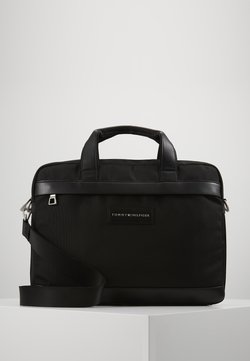 Tommy Hilfiger - UPTOWN COMPUTER BAG - Notebooktasche - black