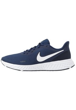 Nike Performance - REVOLUTION 5 - Zapatillas de running neutras - midnight navy/white/dark obsidian