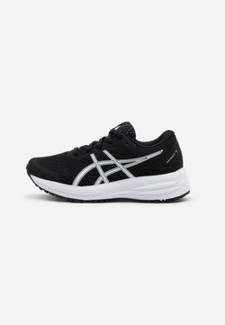 ASICS - PATRIOT 12 - Obuwie do biegania treningowe - black/white