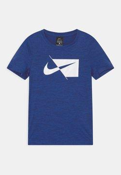Nike Performance - DRY  - T-shirt print - blue void/white