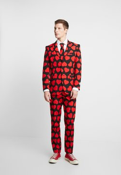 OppoSuits - KING OF HEARTS SUIT SET - Costume - black/red