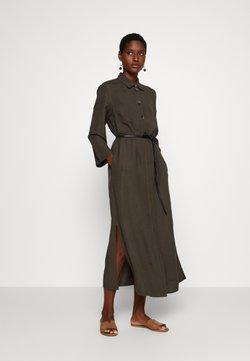 s.Oliver BLACK LABEL - Vestido largo - dark khaki green