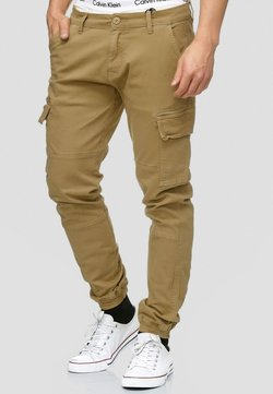 INDICODE JEANS - AUGUST - Cargohose - camel