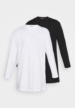 Missguided - BASIC DRESS 2 PACK - Vestido ligero - black