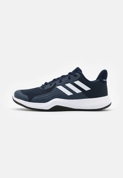 adidas Performance - FITBOUNCE VERSATILITY BOUNCE TRAINING SHOES - Trainings-/Fitnessschuh - collegiate navy/footwear white/sky tint