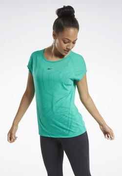 Reebok - BURNOUT T-SHIRT - T-Shirt print - green