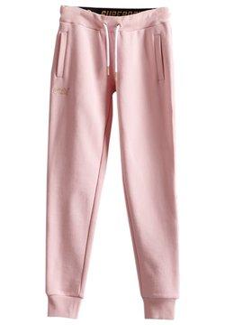 Superdry - Jogginghose - fade pink