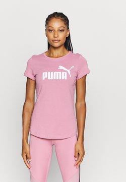 Puma - LOGO TEE - Printtipaita - foxglove