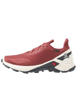 Salomon - ALPHACROSS BLAST GTX - Zapatillas de trail running - apple butter/vanilla/ebony