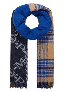 Marc O'Polo - SCARF COSY DOUBLE - Schal - blue/multi-coloured